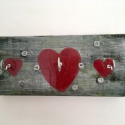 Upcycled Heart Hook